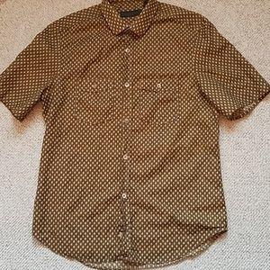 Burberry Prorsum Skinny Fit Acorn Print Shirt